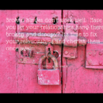 Is Your Life Like a Broken Hinge Door?